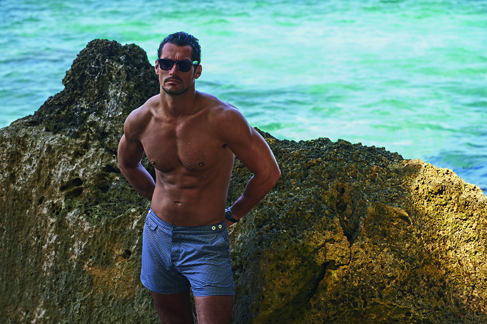 EMBARGOED UNTIL 7TH MAY - DAVID GANDY FOR AUTOGRAPH SWIM 1